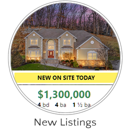 Just Listed Homes. Sign up to Receive Automated Emails of Homes that Meet your Criteria